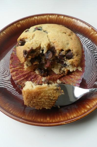 bite choc rasp muffin