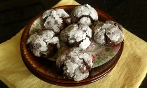 The Annunciation and Flourless Chocolate Cookies