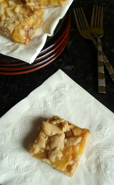 peach pie bar