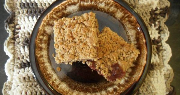 linzer torte squares1