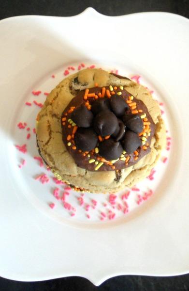individual cookie cake