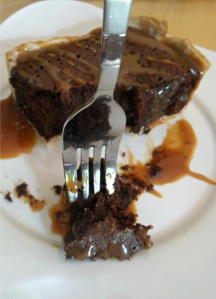 brownie pie bite