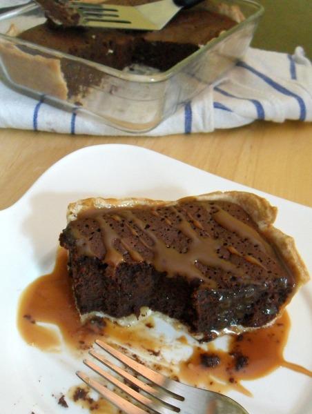 rich brownie pie