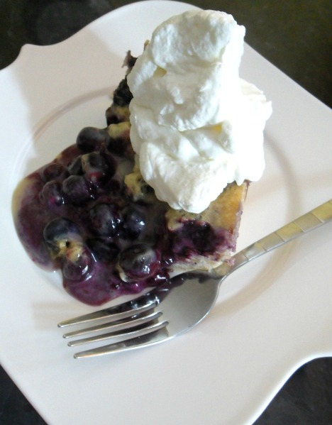 pinterest blueberries and cream cake