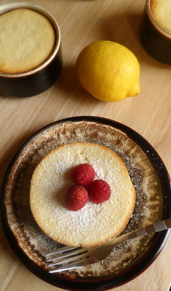 mini lemon souffle