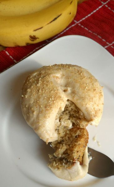 banan pudding cupcake bite