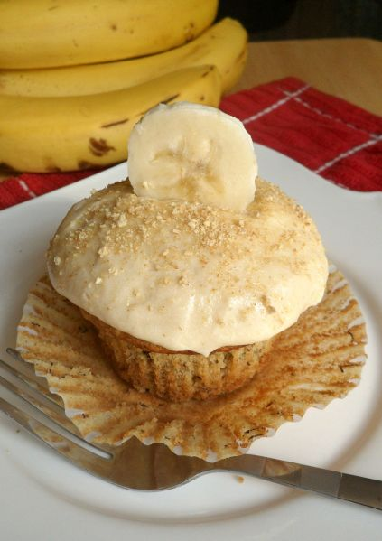 banana pudding cupcake