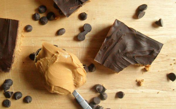 chocolate pb bars