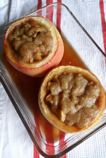 apple crumb pie baked apples