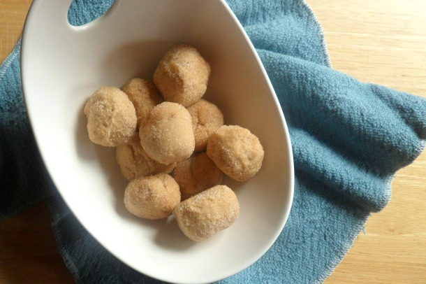snickerdoodle truffle candies